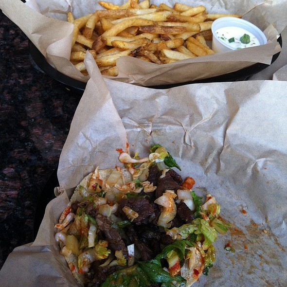 Kalbi Tacos @ Del Seoul