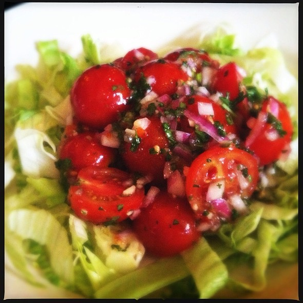 Cherry Tomato Salad - 111 Chop House, Worcester, MA