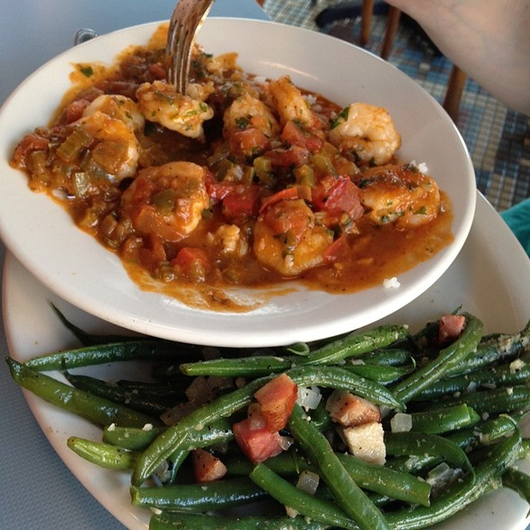 Shrimp Creole @ The High Hat Cafe