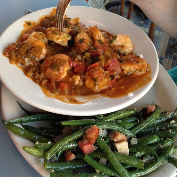 Shrimp Creole @ The High Hat Cafe
