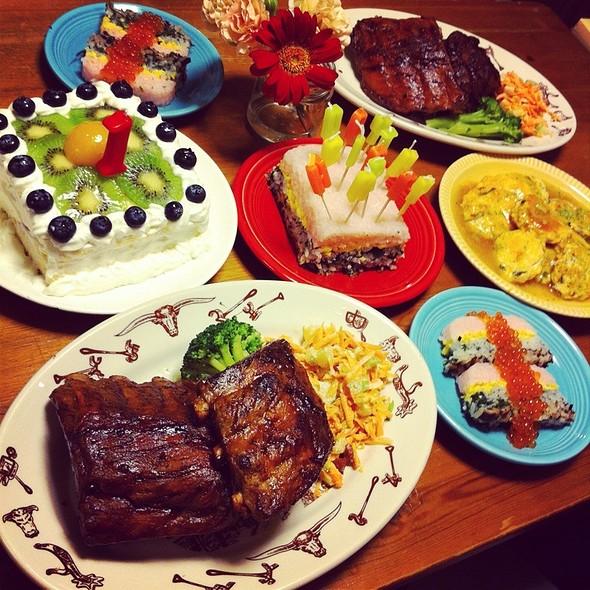 birthday dinner @ Home