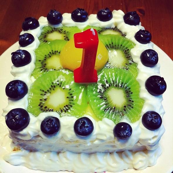Birthday cake @ Home