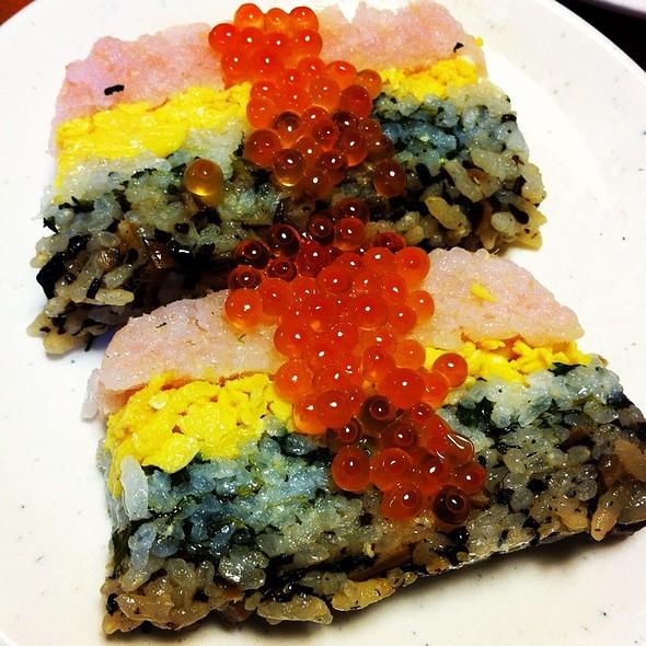 Sushi Cake @ Home
