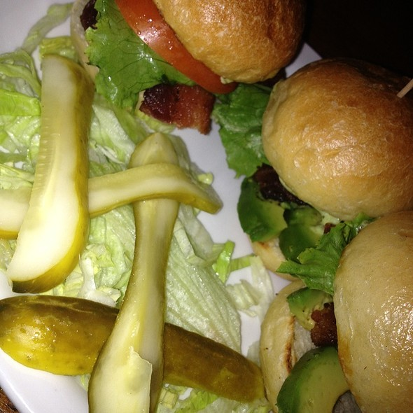 BLT sliders  @ McNear's Saloon & Dining House