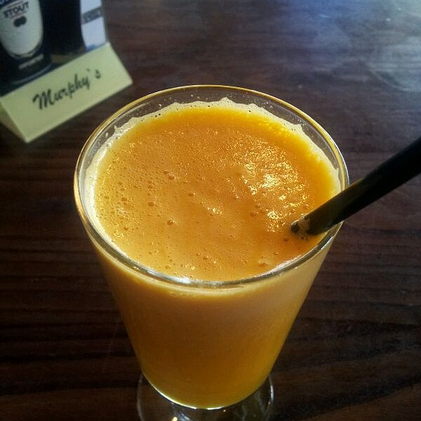 Fresh Orange Juice @ Irish Restaurant & Pub