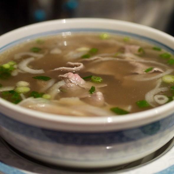 Beef Pho @ Pho VI Hoa