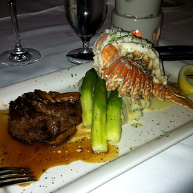 6 Oz Sirloin & 8 Oz Lobster Tail Special