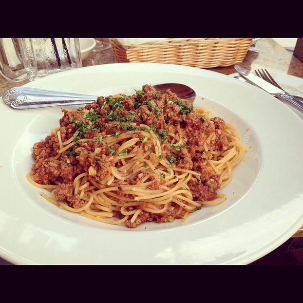 Pasta With Meatsauce @ Cheesecake Factory