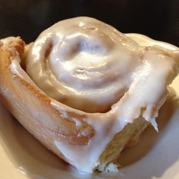 Cinnamon Bun @ Cupboard Cafe