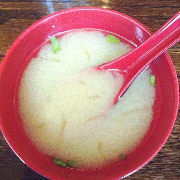 Miso Soup @ MIGA Restaurant