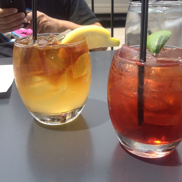 Negroni And Dark And Stormy - One Red Door, Hudson, OH