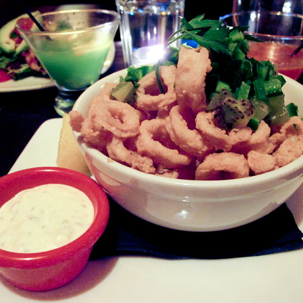 Fried Calamari Salad