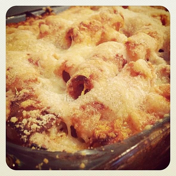 pasta al forno!  #nomnom @ The Marzano Mansion
