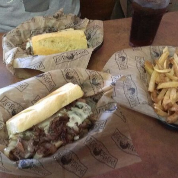 Ribeye Cheesesteak Sandwich @ Poor Boy Steaks