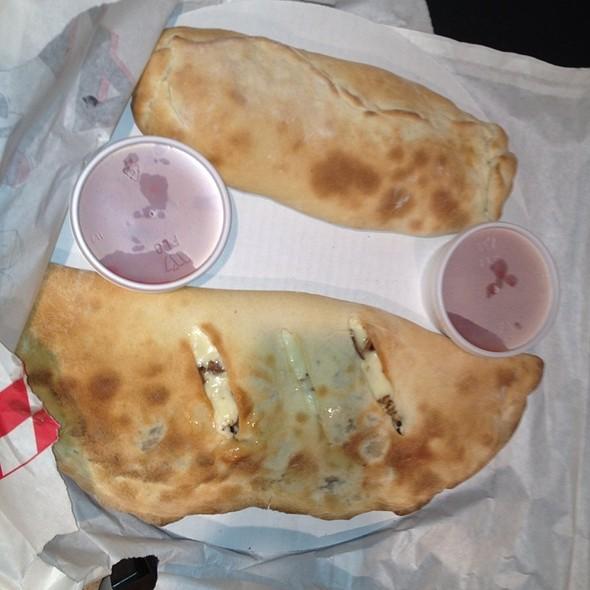 Stromboli @ Valentia's Pizzeria