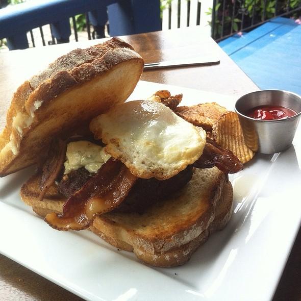 Triple Bypass Burger @ River Rock Inn