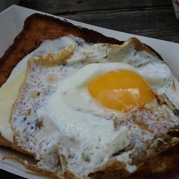 Croque Madame @ H-town Streats