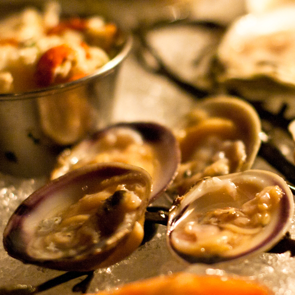 Little Neck Clams @ Anchor & Hope