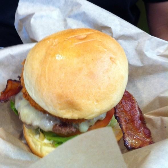 Bison Burger @ Burger Works