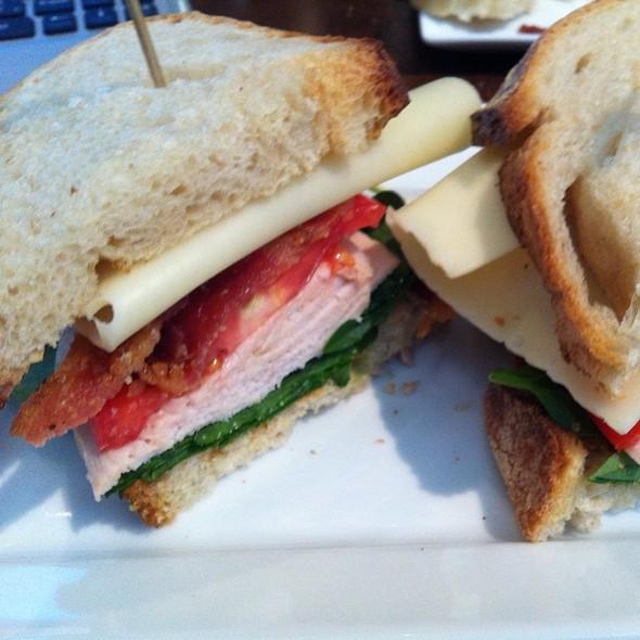 Roasted Turkey Sandwich @ Eclipse Cafe