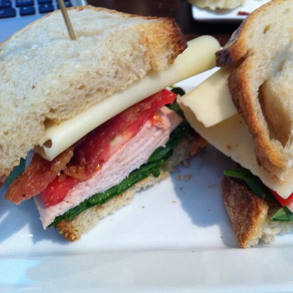 Roasted Turkey Sandwich @ Eclipse Cafe