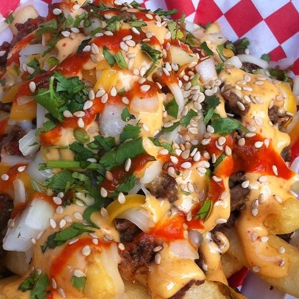 Kimchi Beef Fries  @ Chi'Lantro