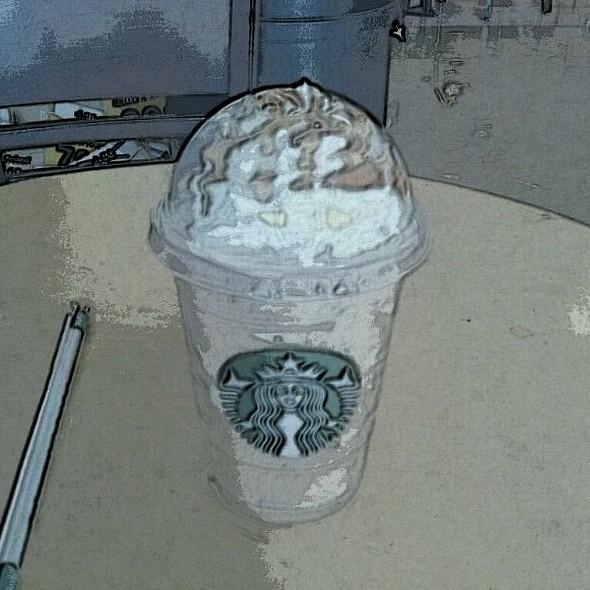 Caramel Frappuccino @ Safeway