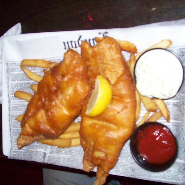 Fish & Chips @ Baker Street Pub & Grill