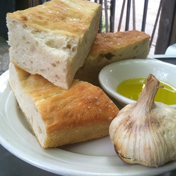 Focaccia With Roasted Garlic And Olive Oil @ Just A Taste