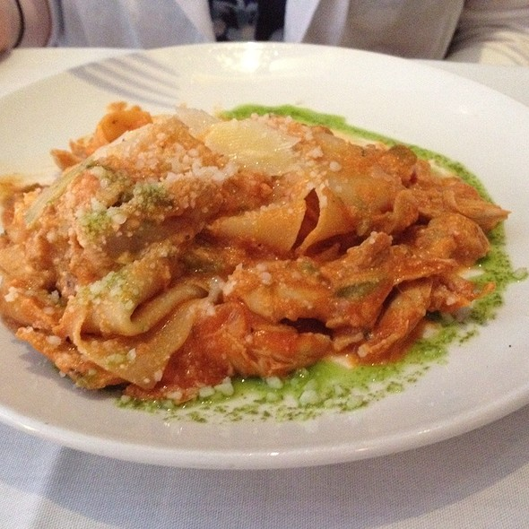 Free Form Chicken Lasagna - Vinoteca di Monica, Boston, MA