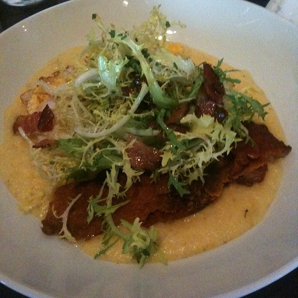 Crispy Duck, Soft Polenta, Frisee and Bacon Salad @ Zero Zero
