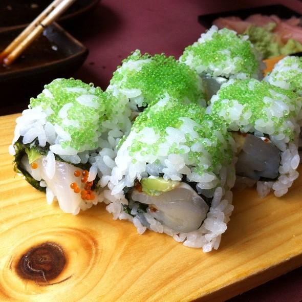 Unagi, Scallop And Shrimp Sushi @ Kyoto cafe