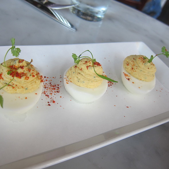 Deviled Eggs @ Village Whiskey