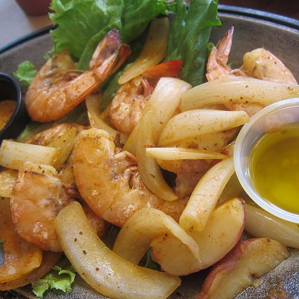 Steamed Shrimp @ Cantler's Riverside Inn
