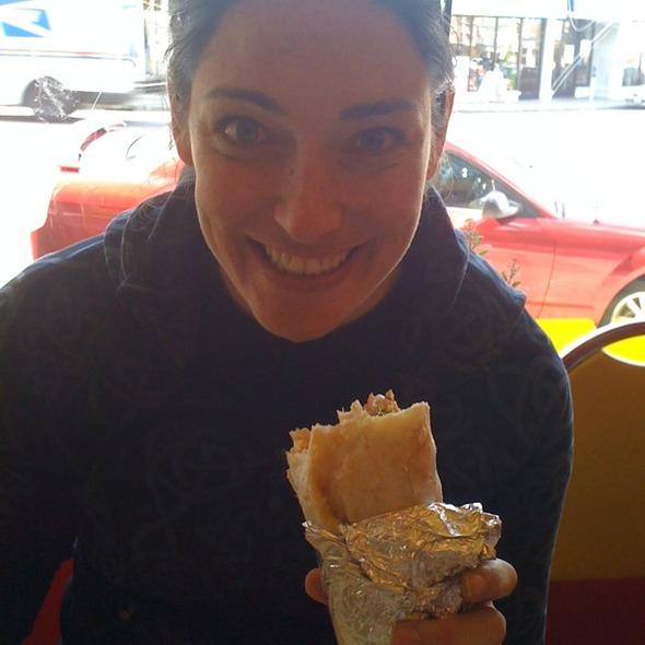 Super Burrito @ Taqueria Cancun - Bernal Heights