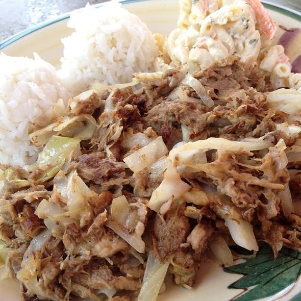 Kalua Pork @ Waikikie Hawaiian BBQ