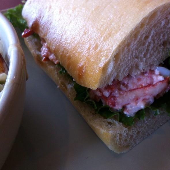 Lobster Sandwich On Ciabatta