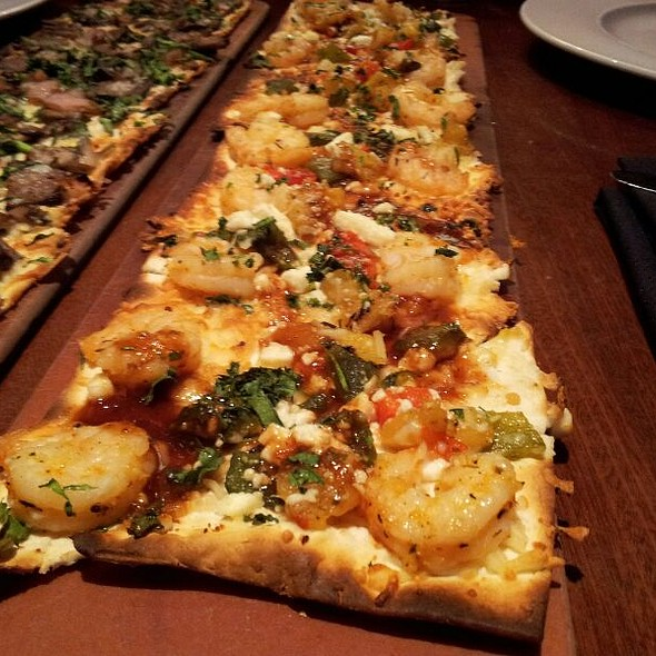 Spicy Chipotle Shrimp Flatbread @ Seasons 52