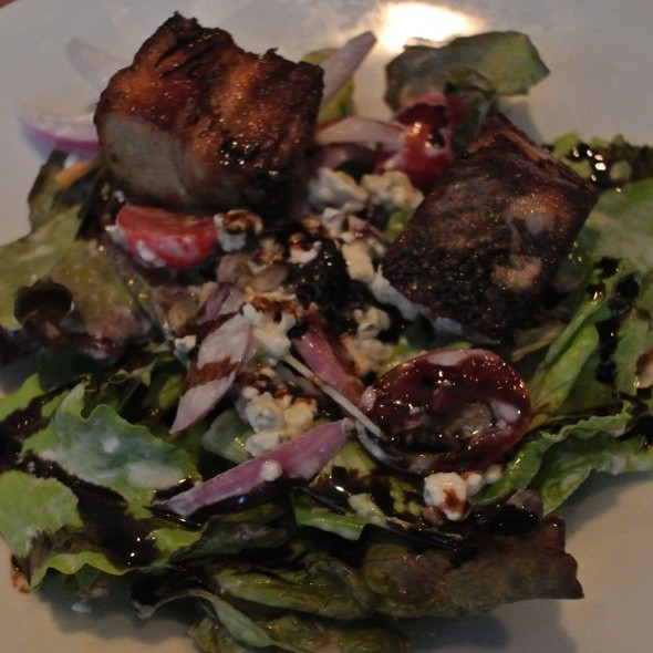 Mixed Greens With Pork Belly @ Chinato