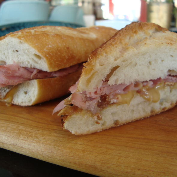 Ham Baguette @ LAMILL Coffee Boutique