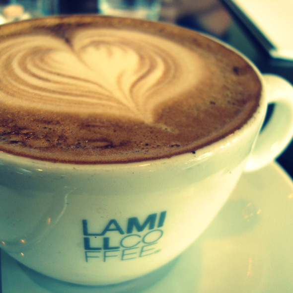 Cappuccino @ LAMILL Coffee Boutique
