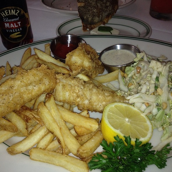 Cod Fish and chips - The Grill on the Alley - Aventura, Aventura, FL