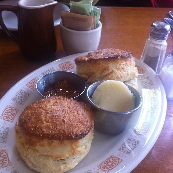 buttermilk biscuits @ Ox Cart Tavern