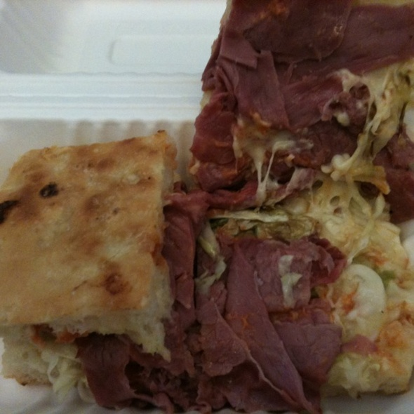 Corned Beef With Cabbage Sandwich @ The Sentinel