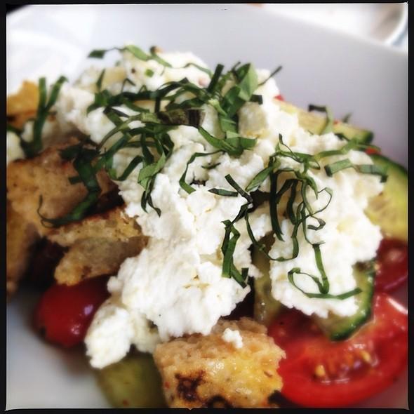 Homemade Ricotta Panzenella Salad - Parlor Steak & Fish, New York, NY