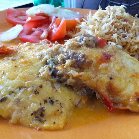 Lasagna Vegetariana @ Delicias Do Braasil