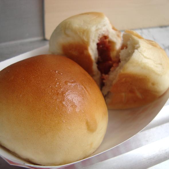 BBQ Pork Bun (char siu bao) @ Dim Sum Truck