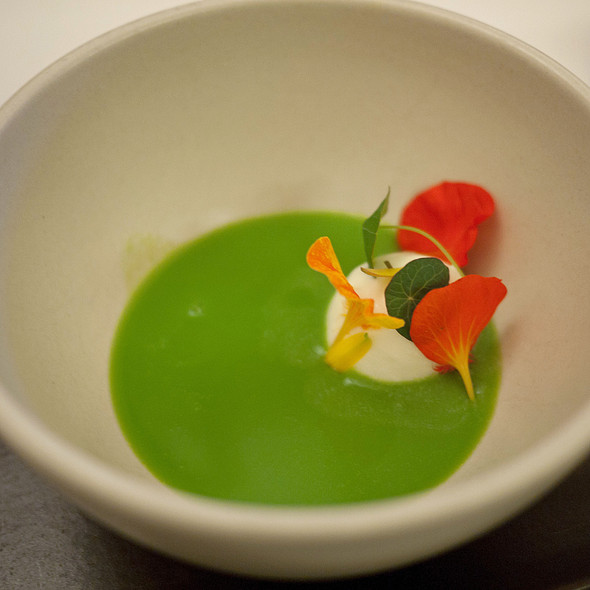 Chilled English Pea Soup