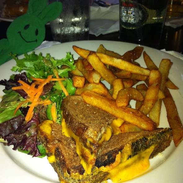 Grilled Cheese - The Paris Cafe, New York, NY