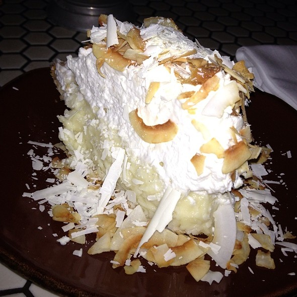 Coconut Cream Pie @ Palace Kitchen